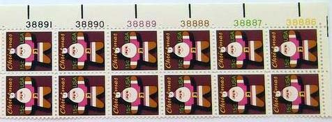 "Scott 1800 Plate Block of 12 (15 cents) <p> <a href=""/images/USA-Scott-1800-PB-12.jpg""><font color=green><b>View the image</a></b></font>"