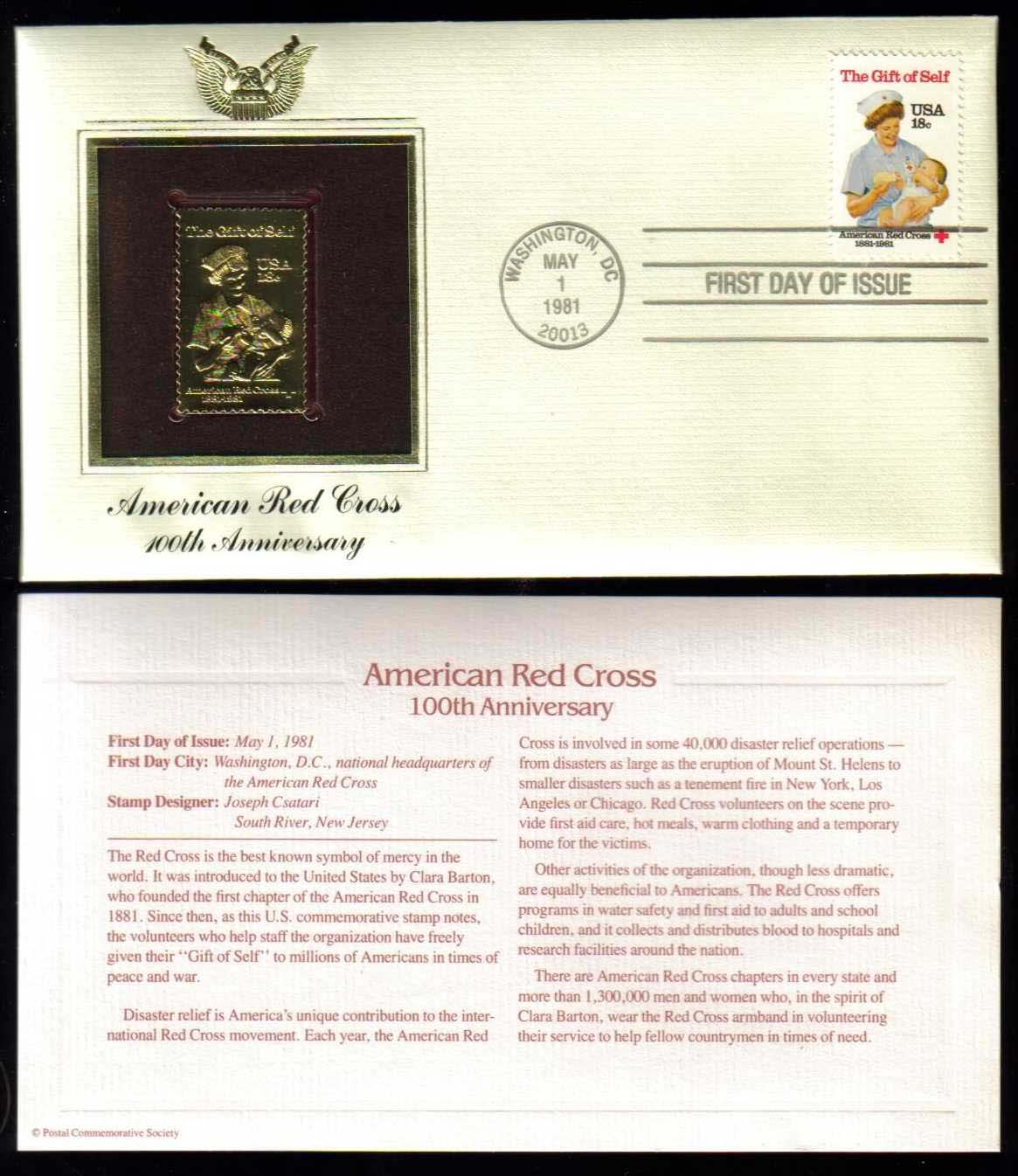 "Scott 1910 Golden Replica (22Kt) unaddressed FDC <p> <a href=""/images/USA-Scott-1910-Gold.jpg""><font color=green><b>View the image</a></b></font>"