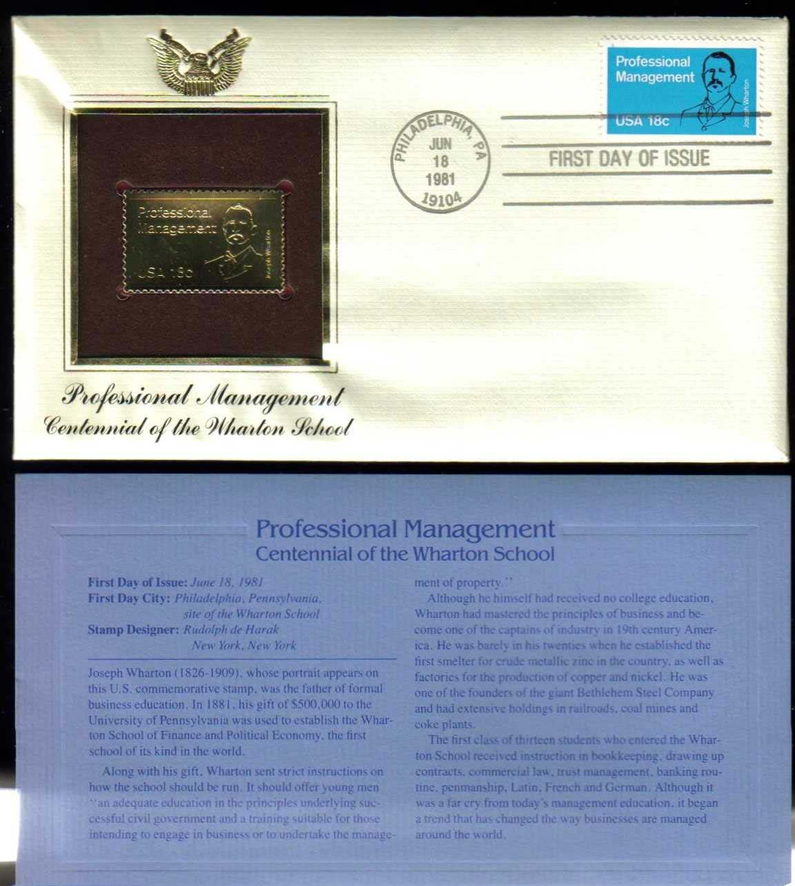 "Scott 1920 Golden Replica (22Kt) unaddressed FDC <p> <a href=""/images/USA-Scott-1920-Gold.jpg""><font color=green><b>View the image</a></b></font>"
