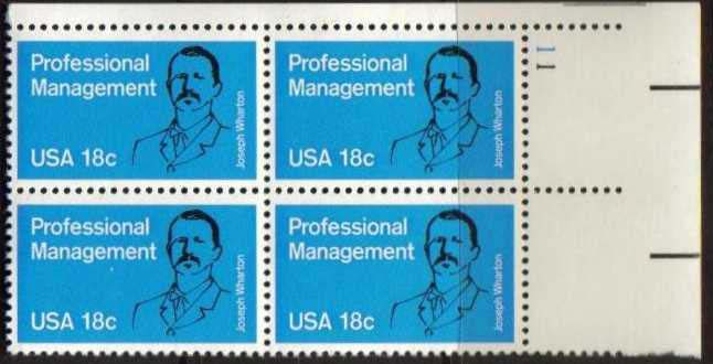 "Scott 1920 Plate Block (18 cents) <p> <a href=""/images/USA-Scott-1920-PB.jpg""><font color=green><b>View the image</a></b></font>"