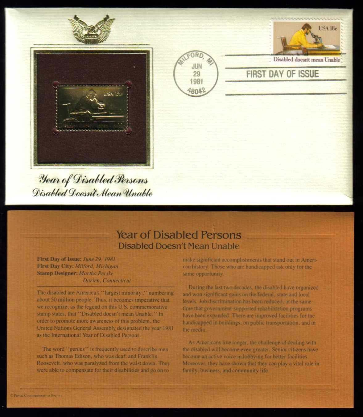 "Scott 1925 Golden Replica (22Kt) unaddressed FDC <p> <a href=""/images/USA-Scott-1925-Gold.jpg\""><font color=green><b>View the image</a></b></font>"