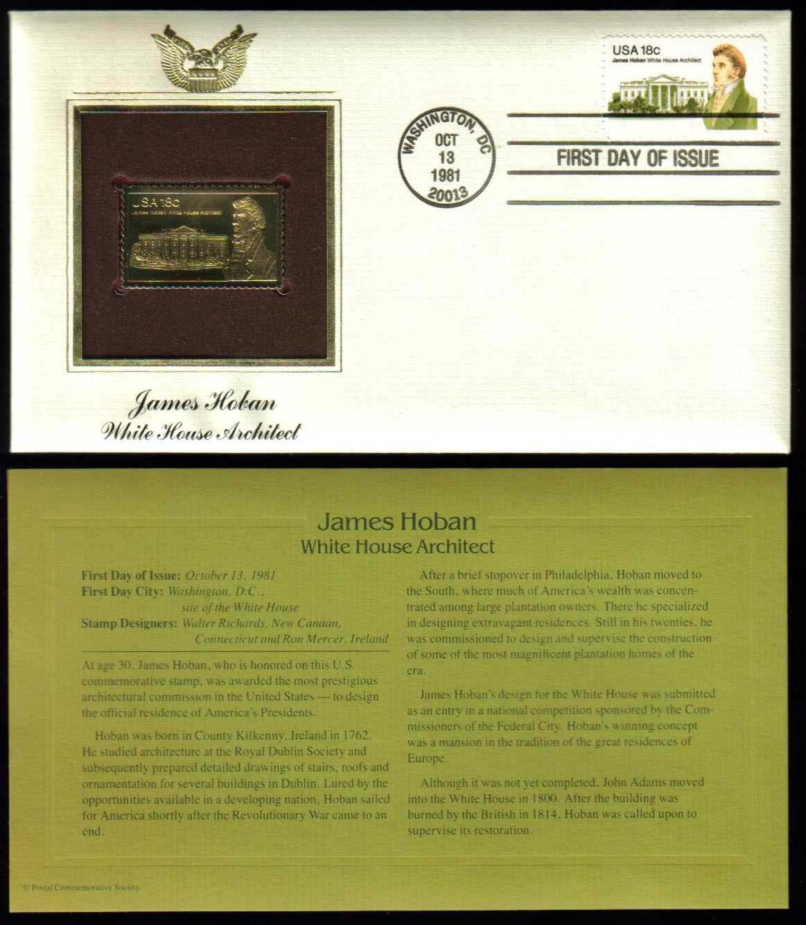 "Scott 1935 Golden Replica (22Kt) unaddressed FDC <p> <a href=""/images/USA-Scott-1935-Gold.jpg""><font color=green><b>View the image</a></b></font>"