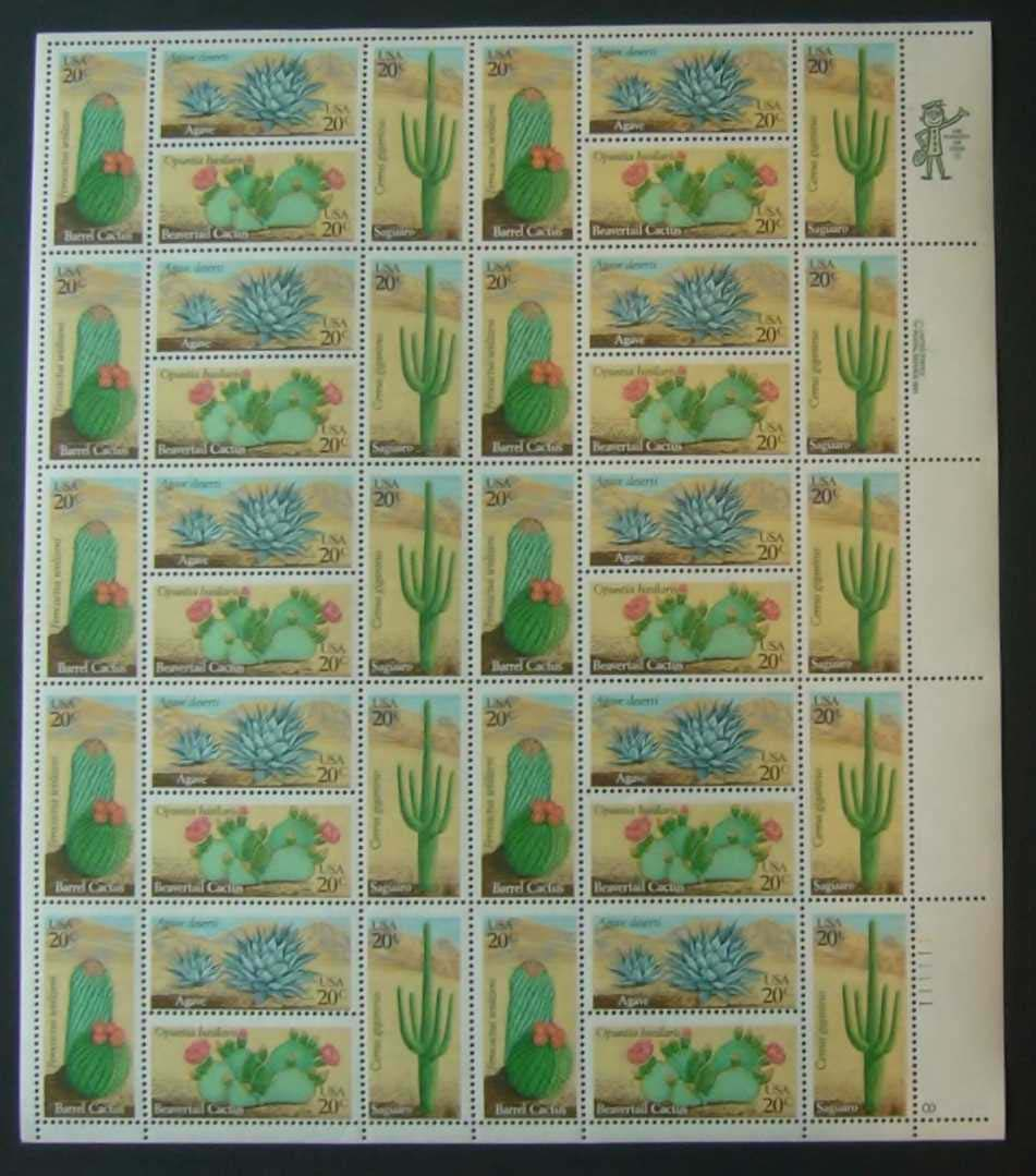 "Scott 1942-1945 Sheet (20 cents) <p> <a href=""/images/USA-Scott-1942-1945-Sheet.jpg""><font color=green><b>View the image</a></b> </font>"