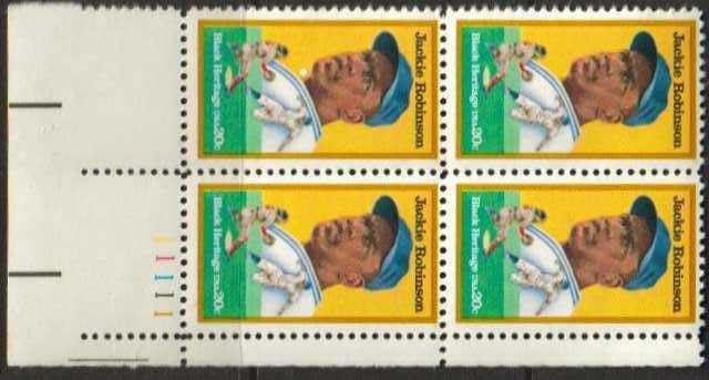 "Scott 2016 Plate Block (20 cents) <p> <a href=""/images/USA-Scott-2016-PB.jpg""><font color=green><b>View the image</a></b></font>"