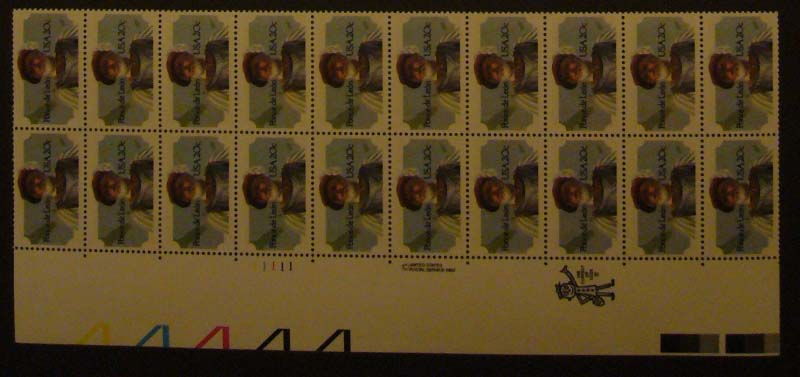 "Scott 2024 Plate Block (20 cents X 20) <p> <a href=""/images/USA-Scott-2024-PB-20.jpg""><font color=green><b>View the image</a></b></font>"