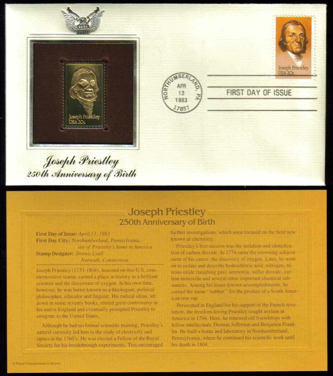 "Scott 2038 Golden Replica (22Kt) unaddressed FDC <p> <a href=""/images/USA-Scott-2038-Gold.jpg""><font color=green><b>View the image</a></b></font>"