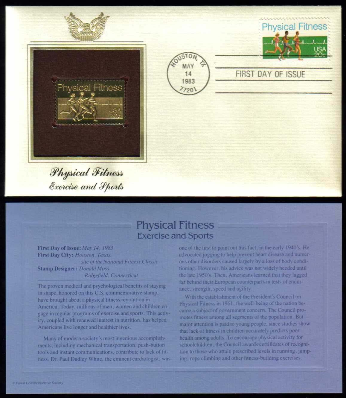 "Scott 2043 Golden Replica (22Kt) unaddressed FDC <p> <a href=""/images/USA-Scott-2043-Gold.jpg""><font color=green><b>View the image</a></b></font>"