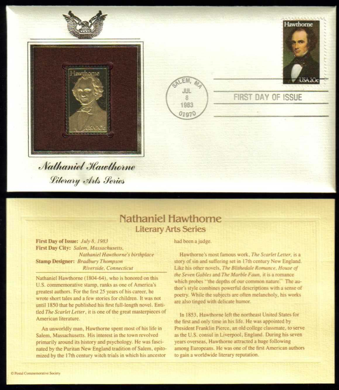 "Scott 2047 Golden Replica (22Kt) unaddressed FDC <p> <a href=""/images/USA-Scott-2047-Gold.jpg\""><font color=green><b>View the image</a></b></font>"