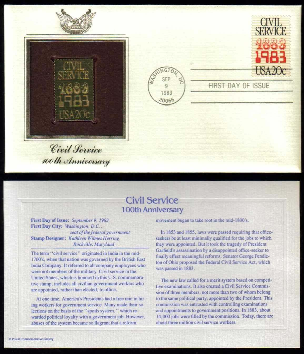 "Scott 2053 Golden Replica (22Kt) unaddressed FDC <p> <a href=""/images/USA-Scott-2053-Gold.jpg""><font color=green><b>View the image</a></b></font>"