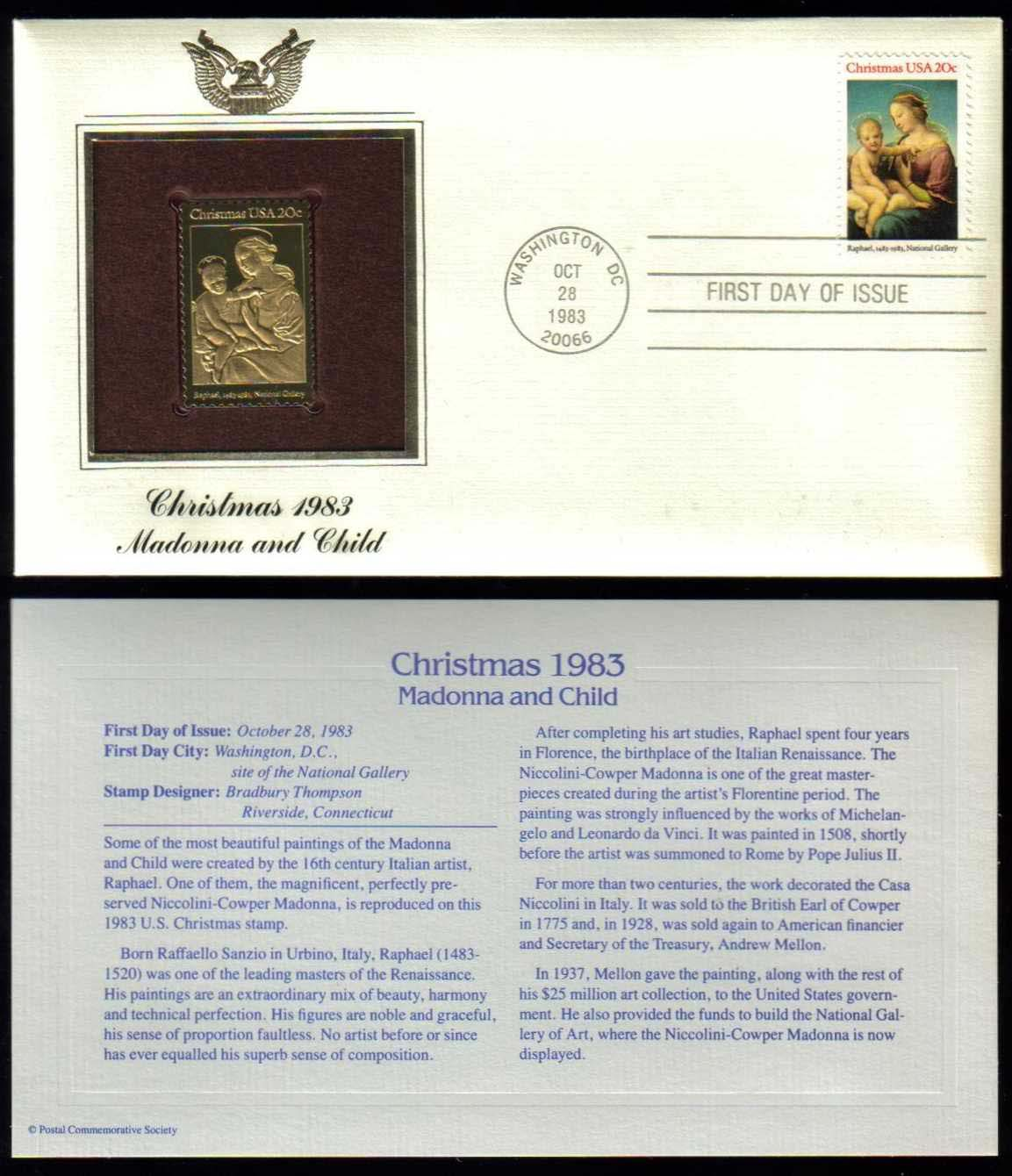 "Scott 2063 Golden Replica (22Kt) unaddressed FDC <p> <a href=""/images/USA-Scott-2063-Gold.jpg""><font color=green><b>View the image</a></b></font>"
