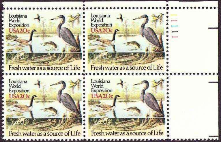 "Scott 2086 Plate Block (20 cents) <p> <a href=""/images/USA-Scott-2086-PB.jpg""><font color=green><b>View the image</a></b></font>"