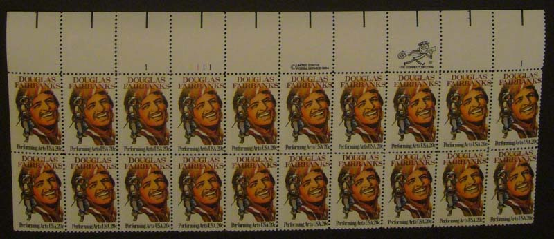 "Scott 2088 Plate Block (20 cents X 20) <p> <a href=""/images/USA-Scott-2088-PB-20.jpg""><font color=green><b>View the image</a></b></font>"