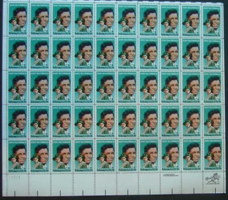 "Scott 2090 Sheet (20 cents) <p> <a href=""/images/USA-Scott-2090-Sheet.jpg""><font color=green><b>View the image</a></b> </font>"