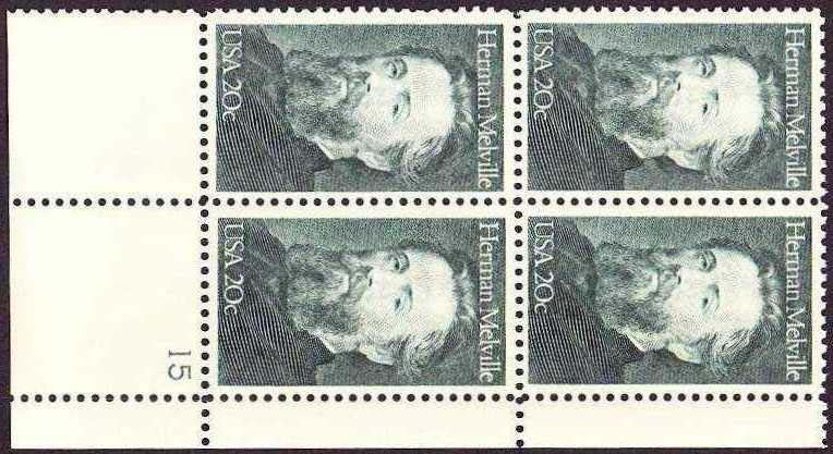 Scott 2094 Plate Block (20 cents)