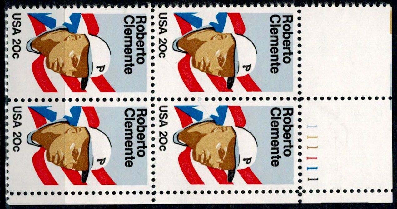"Scott 2097 Plate Block (20 cents) <p> <a href=""/images/USA-Scott-2097-PB.jpg""><font color=green><b>View the image</a></b></font>"