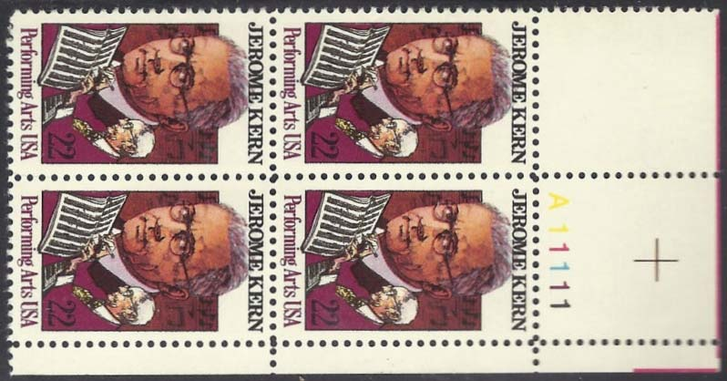 "Scott 2110 Plate Block (22 cents) <p> <a href=""/images/USA-Scott-2110-PB.jpg""><font color=green><b>View the image</a></b></font>"