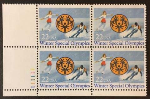 "Scott 2142 Plate Block (22 cents) <p> <a href=""/images/USA-Scott-2142-PB.jpg""><font color=green><b>View the image</a></b></font>"