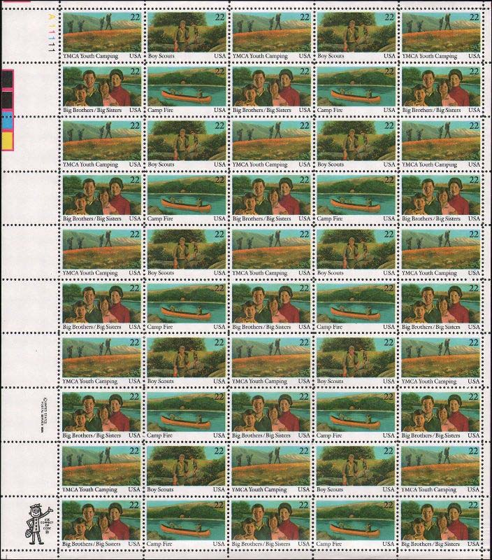 "Scott 2160-2163 Sheet (22 cents) <p> <a href=""/images/USA-Scott-2160-2163-Sheet.jpg""><font color=green><b>View the image</a></b></font>"