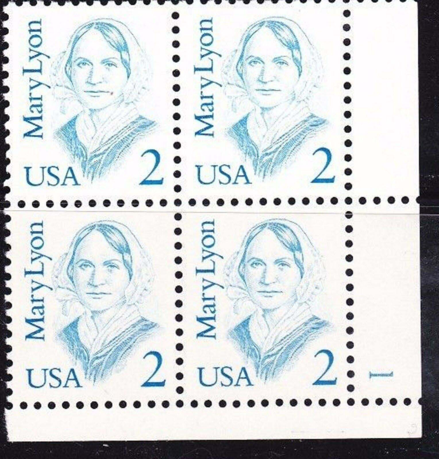 "Scott 2169 Plate Block (2 cents) <p> <a href=""/images/USA-Scott-2169-PB.jpg""><font color=green><b>View the image</a></b></font>"