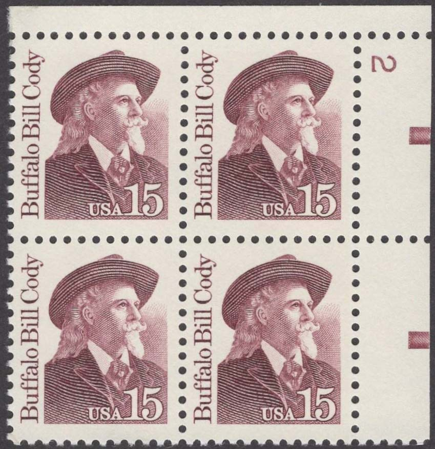 "Scott 2177 Plate Block (15 cents) <p> <a href=""/images/USA-Scott-2177-PB.jpg""><font color=green><b>View the image</a></b></font>"