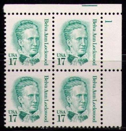 "Scott 2178 Plate Block (17 cents) <p> <a href=""/images/USA-Scott-2178-PB.jpg""><font color=green><b>View the image</a></b></font>"