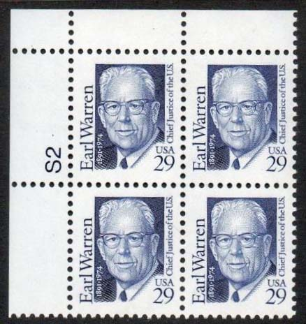 "Scott 2184 Plate Block (29 cents) <p> <a href=""/images/USA-Scott-2184-PB.jpg""><font color=green><b>View the image</a></b></font>"