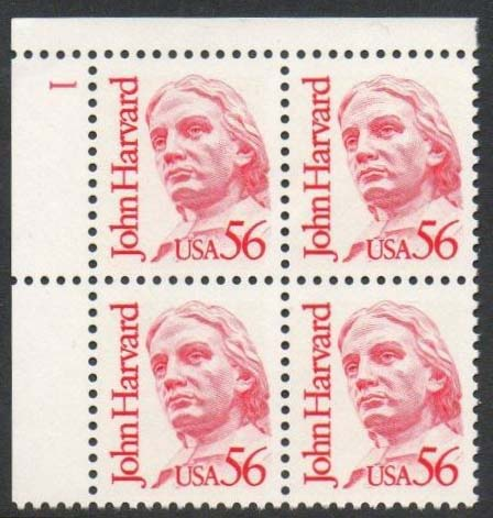 Scott 2190 Plate Block (56 cents) <p> <a href=&quot;/images/USA-Scott-2190-PB.jpg&quot;><font color=green><b>View the image</a></b></font>