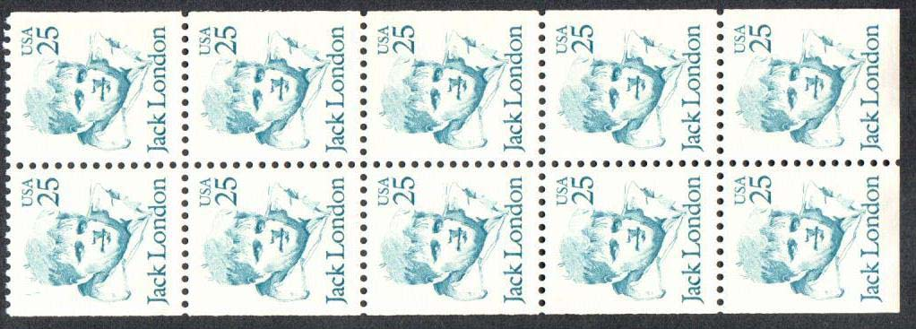 "Scott 2197a Booklet pane of 10 (25 cents) <p> <a href=""/images/USA-Scott-2197a(5).jpg""><font color=green><b>View the image</a></b></font>"