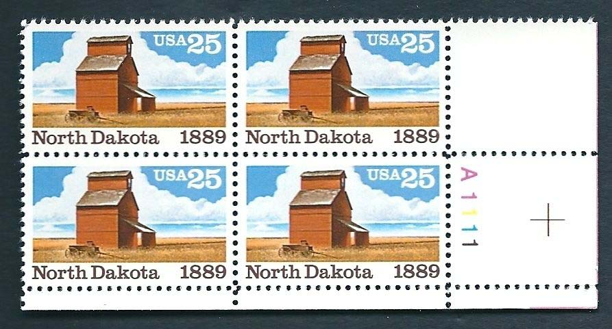 "Scott 2403 Plate Block (25 cents) <p> <a href=""/images/USA-Scott-2403-PB.jpg""><font color=green><b>View the image</a></b></font>"