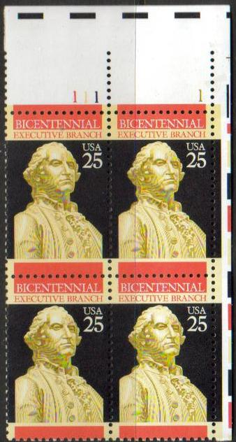 "Scott 2414 Plate Block (25 cents) <p> <a href=""/images/USA-Scott-2414-PB.jpg""><font color=green><b>View the image</a></b></font>"