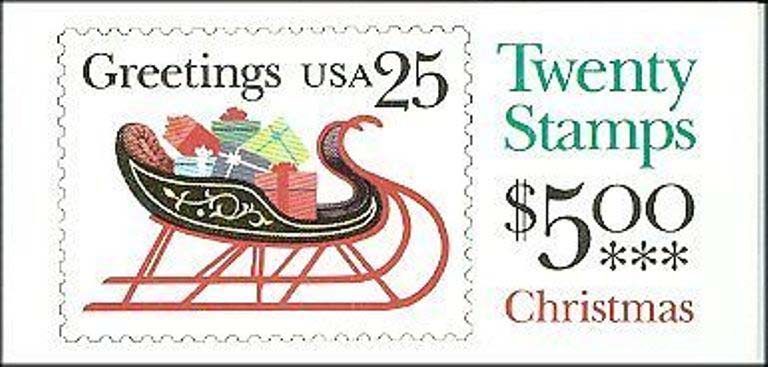 Scott 2429a Booklet #168 (25 cents) <p> <a href=&quot;/images/USA-Scott-2429a-Booklet-168.jpg&quot;><font color=green><b>View the image</a></b></font>