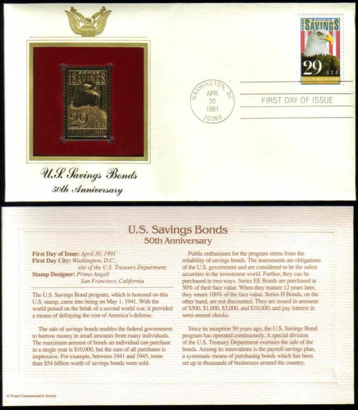 "Scott 2534 Golden Replica (22Kt) unaddressed FDC <p> <a href=""/images/USA-Scott-2534-Gold.jpg""><font color=green><b>View the image</a></b></font>"