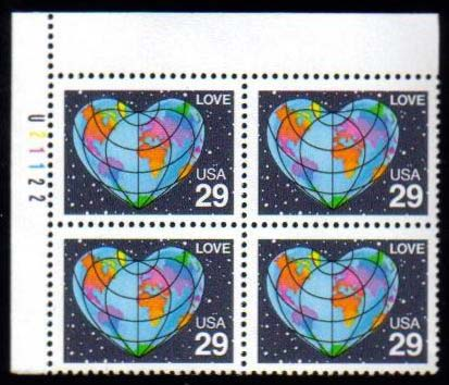 "Scott 2535 Plate Block (29 cents) <p> <a href=""/images/USA-Scott-2535-PB.jpg""><font color=green><b>View the image</a></b></font>"