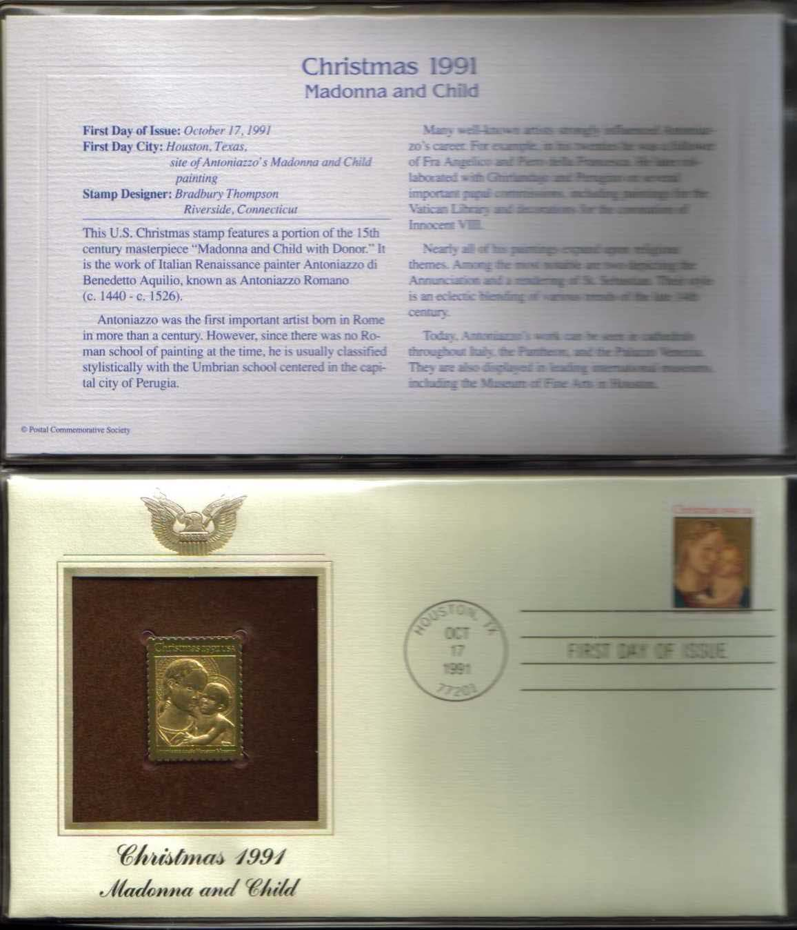 "Scott 2578 Golden Replica (22Kt) unaddressed FDC <p> <a href=""/images/USA-Scott-2578-Gold.jpg""><font color=green><b>View the image</a></b></font>"