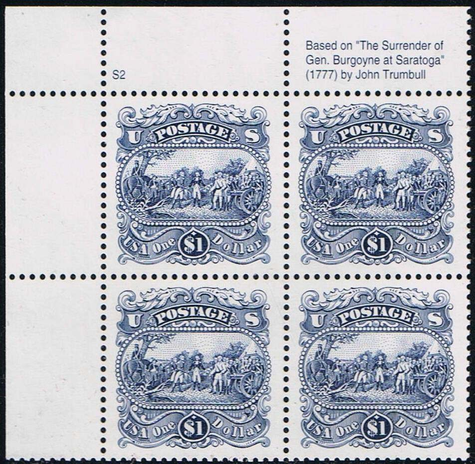 "Scott 2590 Plate Block ($1.00) <p> <a href=""/images/USA-Scott-2590-PB.jpg""><font color=green><b>View the image</a></b></font>"