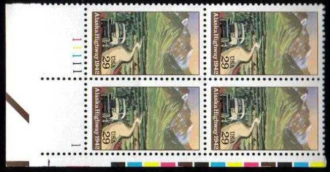 "Scott 2635 Plate Block (29 cents) <p> <a href=""/images/USA-Scott-2635-PB.jpg""><font color=green><b>View the image</a></b></font>"