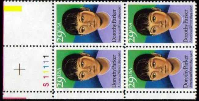 "Scott 2698 Plate Block (29 cents) <p> <a href=""/images/USA-Scott-2698-PB.jpg""><font color=green><b>View the image</a></b></font>"