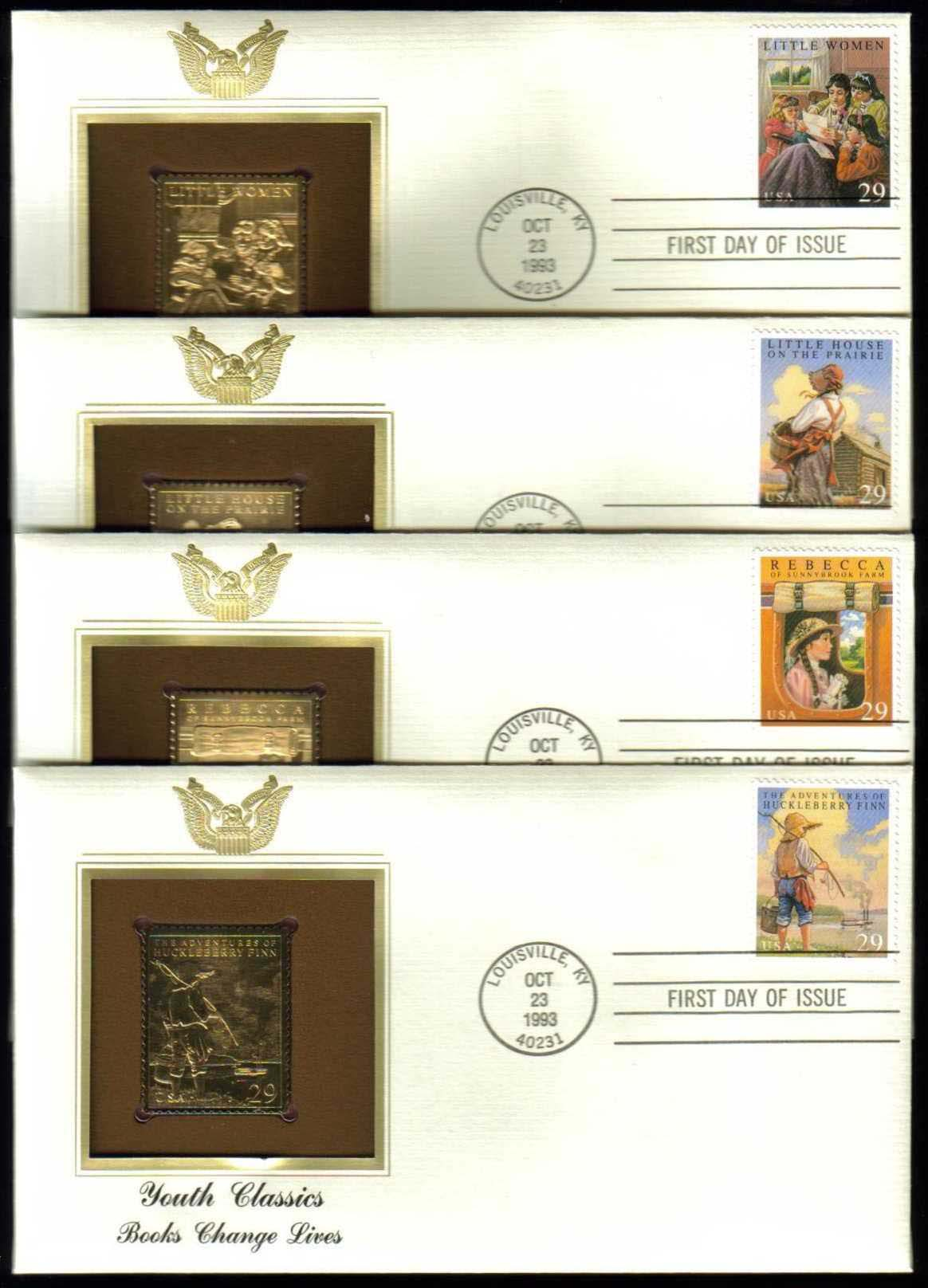 "Scott 2785-2788 Golden Replica (22Kt) unaddressed FDC <p> <a href=""/images/USA-Scott-2785-2788-Gold.jpg""><font color=green><b>View the image</a></b></font>"