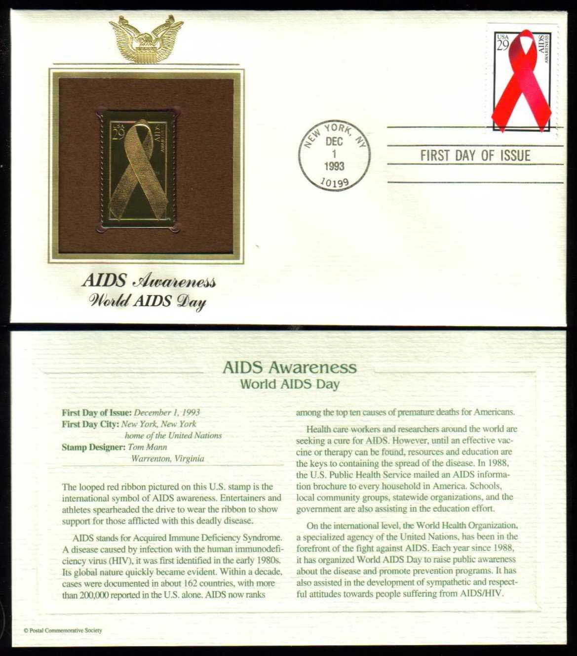 "Scott 2806 Golden Replica (22Kt) unaddressed FDC <p> <a href=""/images/USA-Scott-2806-Gold.jpg""><font color=green><b>View the image</a></b></font>"