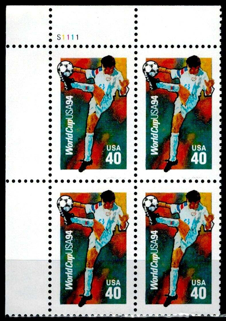 "Scott 2835 Plate Block (40 cents) <p> <a href=""/images/USA-Scott-2835.jpg""><font color=green><b>View the image</a></b></font>"