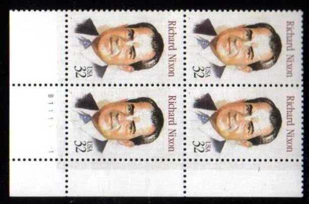 "Scott 2955 Plate Block of 4 (32 cents) <p> <a href=""/images/USA-Scott-2955-PB.jpg""><font color=green><b>View the image</a></b></font>"