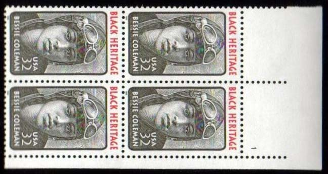 "Scott 2956 Plate Block of 4 (32 cents) <p> <a href=""/images/USA-Scott-2956-PB.jpg""><font color=green><b>View the image</a></b></font>"