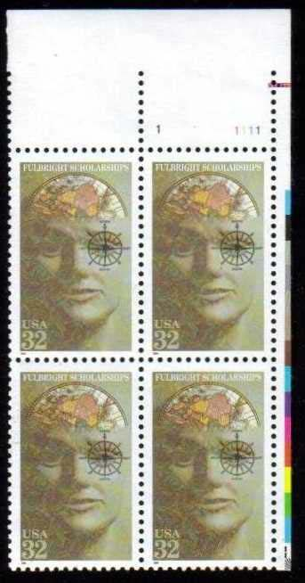 "Scott 3065 Plate Block (32 cents) <p> <a href=""/images/USA-Scott-3065-PB.jpg""><font color=green><b>View the image</a></b></font>"