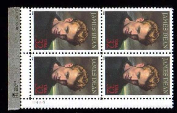 "Scott 3082 Plate Block of 4 (32 cents) <p> <a href=""/images/USA-Scott-3082-PB.jpg""><font color=green><b>View the image</a></b></font>"