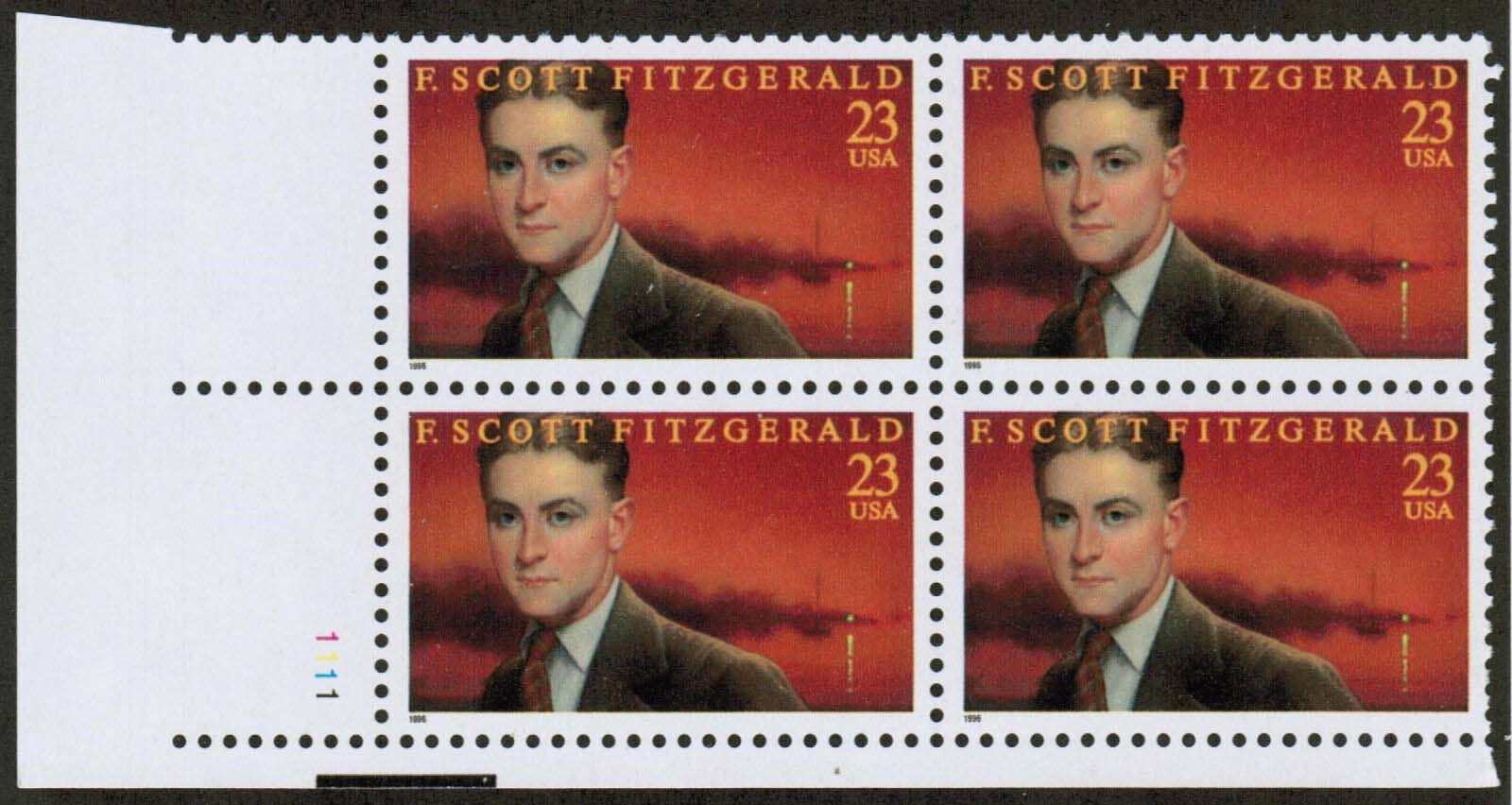 "Scott 3104 Plate Block of 4 (23 cents) <p> <a href=""/images/USA-Scott-3104-PB.jpg""><font color=green><b>View the image</a></b></font>"