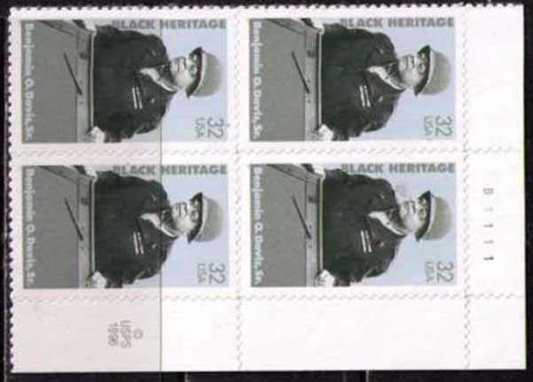 "Scott 3121 Plate Block of 4  (32 cents) <p> <a href=""/images/USA-Scott-3121-PB.jpg""><font color=green><b>View the image</a></b></font>"