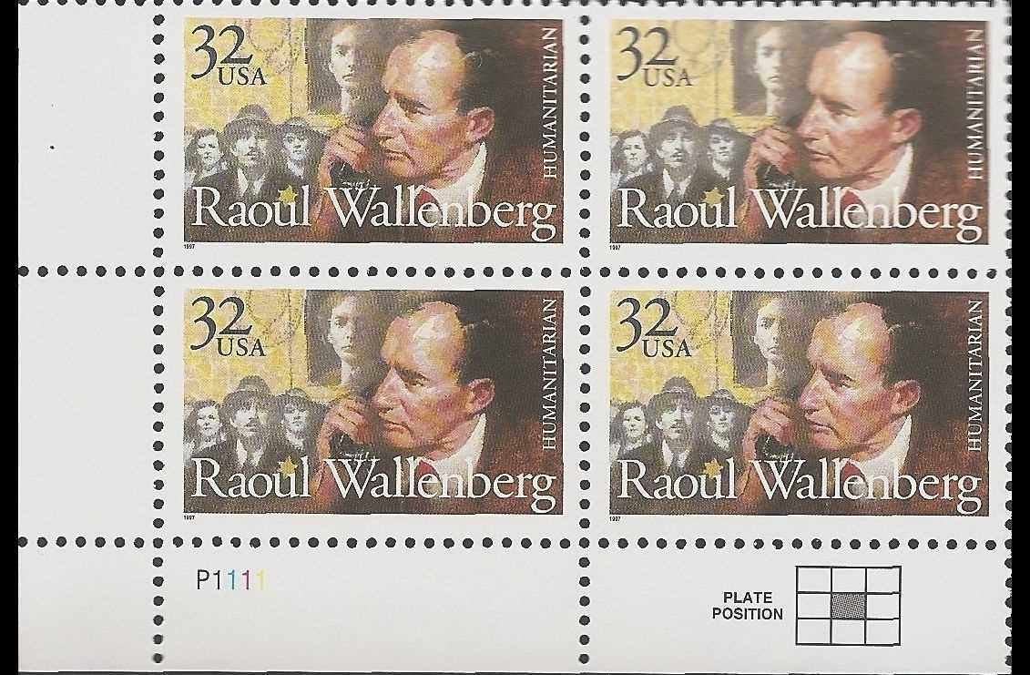 "Scott 3135 Plate Block of 4 (32 cents) <p> <a href=""/images/USA-Scott-3135-PB.jpg""><font color=green><b>View the image</a></b></font>"