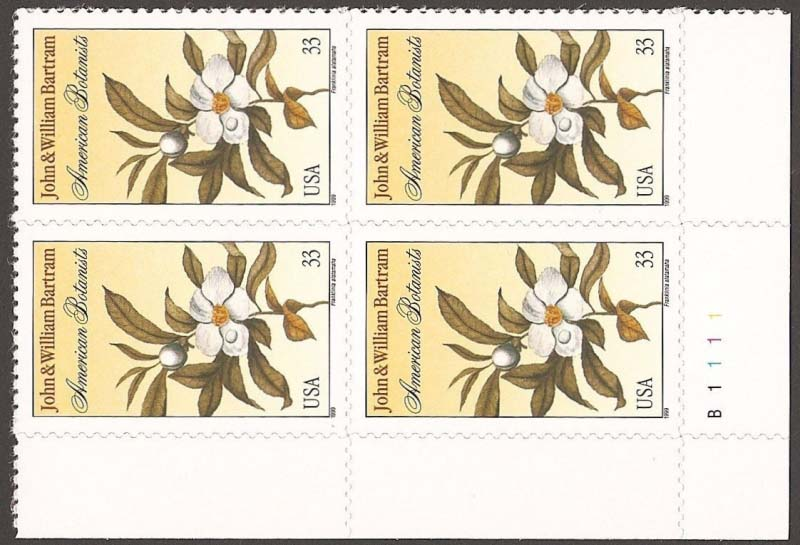 "Scott 3314 Plate Block (33 cents) <p> <a href=""/images/USA-Scott-3314-PB.jpg""><font color=green><b>View the image</a></b></font>"