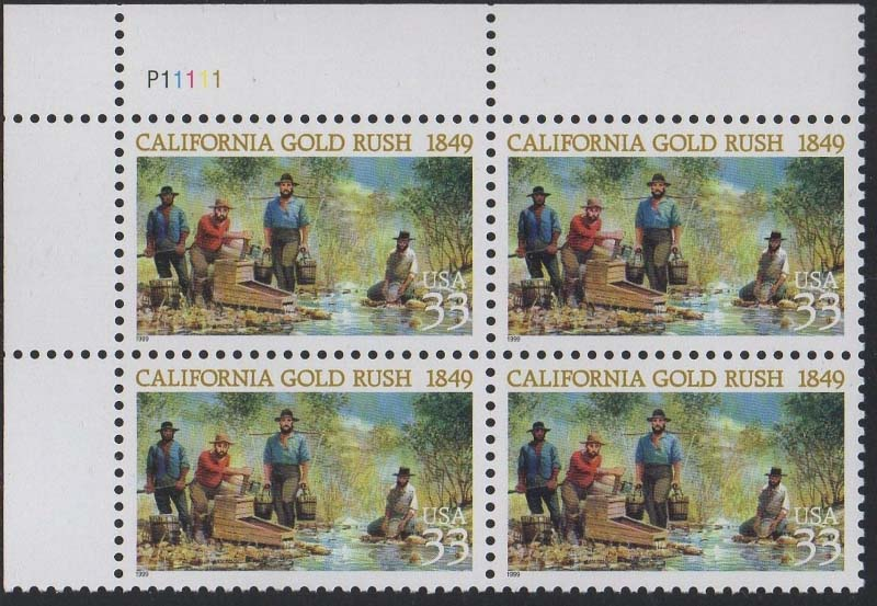 "Scott 3316 Plate Block (33 cents) <p> <a href=""/images/USA-Scott-3316-PB.jpg""><font color=green><b>View the image</a></b></font>"