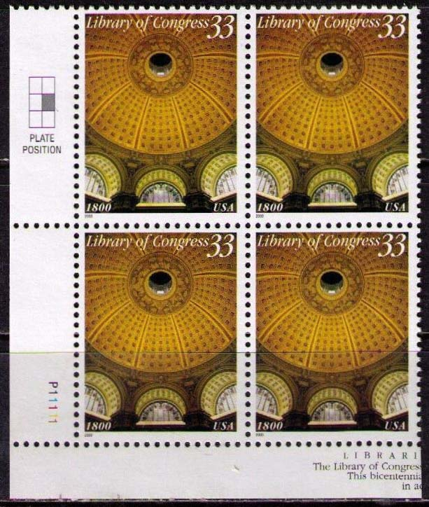 "Scott 3390 Plate Block (33 cents) <p> <a href=""/images/USA-Scott-3390-PB.jpg""><font color=green><b>View the image</a></b></font>"